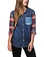 Empyre Canfield Flannel & Denim Shirt