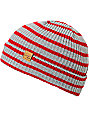 Empyre Clipper Grey & Red Beanie