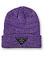 Empyre Cobblestone Purple Beanie