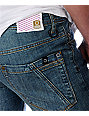 Empyre Cobra Kai Medium Blue Super Skinny Jeans