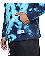 Empyre Compass Bright Blue Tie Dye Hoodie