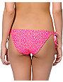 Empyre Coral & Fuchsia Tribal Side Tie Bikini Bottom