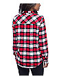Empyre Cortland Red & Papyrus Flannel Shirt