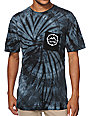 Empyre Crowny Black Tie Dye Pocket T-Shirt