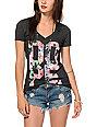 Empyre Dope Floral V-Neck T-Shirt