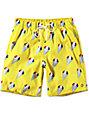 Empyre Dubtub Yellow Snocones Elastic Waist Board Shorts