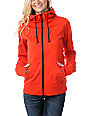 Empyre Essential Red Full Zip Tech Fleece Jacket