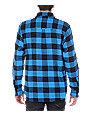 Empyre Excess Blue Flannel Shirt