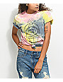 Empyre Eye On You Tie Dye Knot Front T-shirt