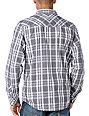 Empyre Ferdinand Grey Plaid Long Sleeve Woven Shirt