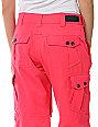 Empyre Free Roller Pink 10K Snowboard Pants