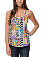 Empyre Girl Casey Zig Zag Tribal Print Tank Top