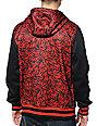Empyre Go Team Red & Black Varsity Tech Fleece Jacket