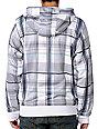 Empyre Grounded White & Blue Tech Fleece Jacket