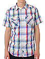 Empyre Gutterpup Blue Plaid Button Up Shirt