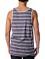 Empyre Isle Grey Striped Tank Top