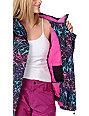 Empyre Liberty Black & Pink Geo 10K Snowboard Jacket