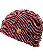 Empyre Mica Red & White  Beanie