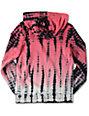 Empyre Ocean Floor Boys Pink Tie Dye Hoodie