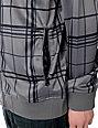 Empyre Oldschool Grey Plaid Track Jacket