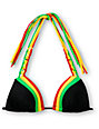 Empyre Pebble Rasta Molded Cup Triangle Bikini Top