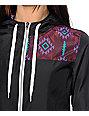 Empyre Roni Black Tribal Windbreaker Jacket