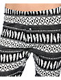 Empyre Rosette Feather Print Lounge Sweater Leggings
