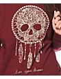Empyre Sally Skull Crew Neck Sweatshirt
