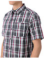 Empyre Seaboard Grey Plaid Button Up Shirt