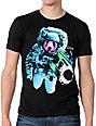 Empyre Space Panda Black T-Shirt