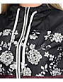 Empyre Sutton Black, Floral & Blackberry Windbreaker