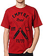 Empyre Switched Dark Red T-Shirt