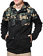 Empyre Teleporter Black & Camo M65 Tech Fleece Jacket