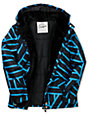 Empyre Tell U Ride Blue Goe Print Snow Jacket