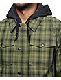 Empyre Traversed Riding 10K Green Snowboard Jacket