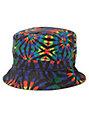 Empyre Tripped Tie Dye Reversible Bucket Hat
