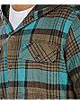 Empyre Vessel Brown Flannel Shirt
