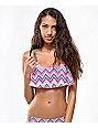 Empyre Which Way Flounce Bikini Top