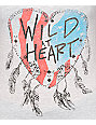 Empyre Wild At Heart Flag V-Neck T-Shirt