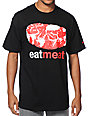 Enjoi Eat Meat Black T-Shirt