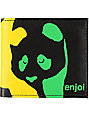 Enjoi Panda Rasta Bi fold Wallet