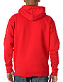 Enjoi Piggyback Red Pullover Hoodie