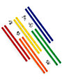 Enjoi Tummy Sticks Spectrum 10 Pack Skateboard Rails