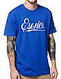 Eswic Script Blue T-Shirt