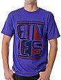 Etnies Orient Purple T-Shirt