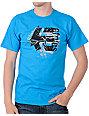 Etnies Pieces Teal Skate T-Shirt