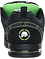 Etnies x Metal Mulisha Kontra Black & Lime Skate Shoes