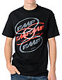 FMF Stacked Up Black T-Shirt