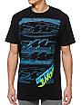 FMF Tronix Octane Black T-Shirt