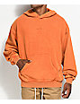 Fairplay Howell Oversized Orange Hoodie